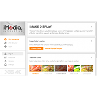 iMedia Interactive 4K - Digital Signage Display Generator